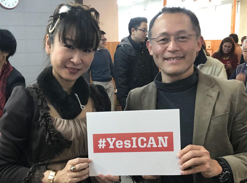 ノーベル平和賞を受賞した「ICAN」の川崎哲さんと